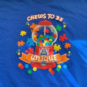 """Chews to be unique"" shirt"